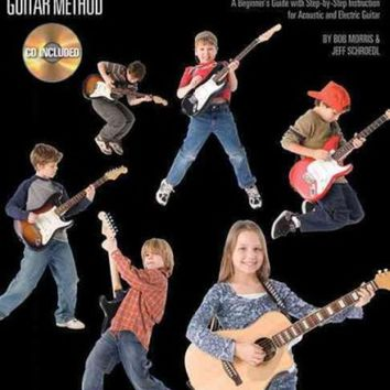 CREYCY2 Guitar for Kids: A Beginner's Guide with Step-by-Step Instruction for Acoustic and Electric Guitar
