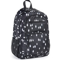 Aeropostale Womens Owl Nylon Backpack - Black, One