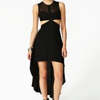 Ivana Cutout Dress - Black