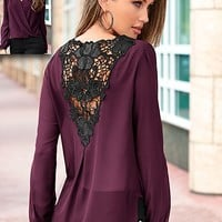Back detail blouse by VENUS