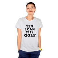 Yes I Can Play Golf