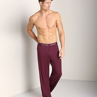 Calvin Klein Body Modal PJ Pant Cabernet U1143F-2CT at International Jock Underwear & Swimwear