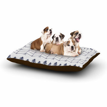 "Famenxt ""Tribal Arrows Jungle Stars"" Gray Pattern Dog Bed"