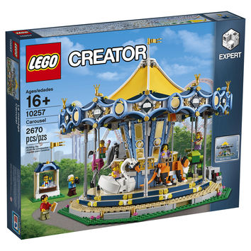 Lego 10257 Creator Carousel Attraction 2670 pieces 7 minifigures New