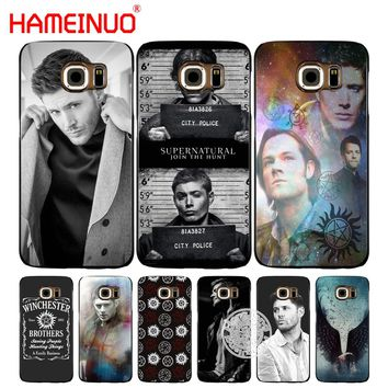 HAMEINUO Supernatural SPN Jensen Ackles cell phone case cover for Samsung Galaxy S7 edge PLUS S8 S6 S5 S4 S3 MINI
