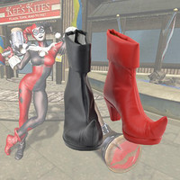 Harley Quinn Cosplay Boots