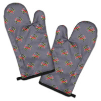 Maryland Flag Crab (Grey) / Oven Mitt
