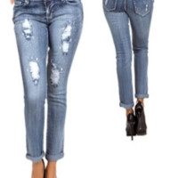 Fashion Ankle Jeans