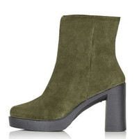 HEDGEHOG Inside Zip Boot - Khaki