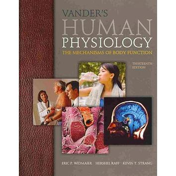 Vander's Human Physiology + Connectplus Access Card