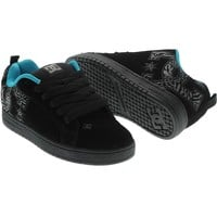 DC Black Print Court Graffik Special Edition SD Shoe | DC | FreestyleXtreme Canada