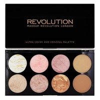 Makeup Revolution Ultra Blush Palette Golden Sugar | tambeauty.com