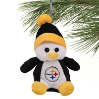 Pittsburgh Steelers Plush Penguin Ornament