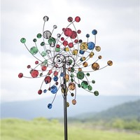 Confetti Kinetic Wind Spinner