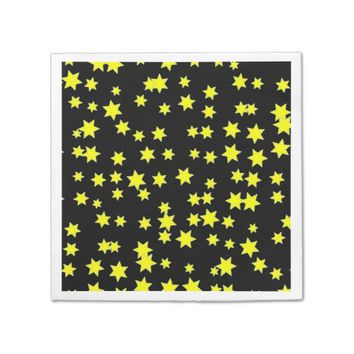 Yellow Stars Napkin