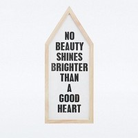 Good Heart Wall Art Frame - Urban Outfitters