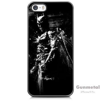 Batman Case For iPhone 5 / 5s / SE + Screen Protector + Stylus