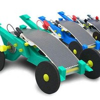 Volta Racer Toy Cars Use Flexible Solar Panels For Power
