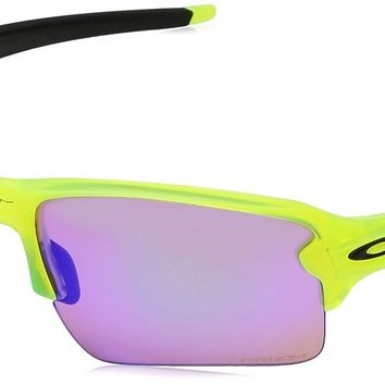 New OAKLEY Flak 2.0 XL Sunglasses - Uranium w/ Prizm Golf - OO9188-11