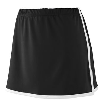 Augusta 1285 Ladies Finalist Skort - Black White