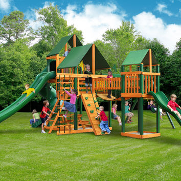 Gorilla Playsets Treasure Trove II Supreme CG Wooden Swing Set