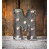 Light-Up Marquee Letter M - Walmart.com