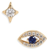 Nadri Evil Eye Earrings | Nordstrom