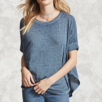 Contemporary Slub Knit Top