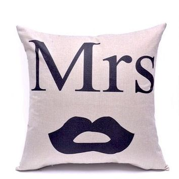 His & Hers Pillow Cases