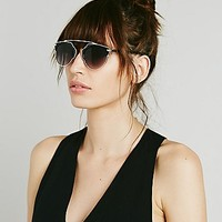 Free People Womens Mystic River Sunglass