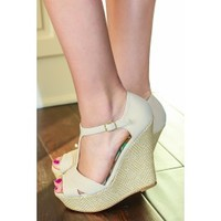 Truth Or Dare Wedge-Nude