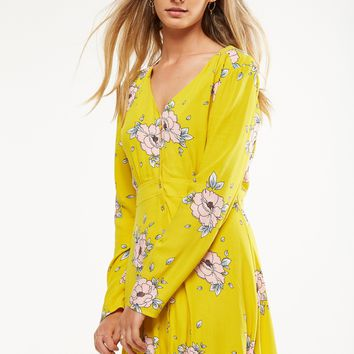 Woven Bella Long Sleeve Tea Dress