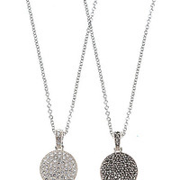 Judith Jack Reversible Pave Necklace