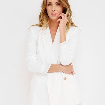 LUXE LIFE ONE BUTTON BLAZER