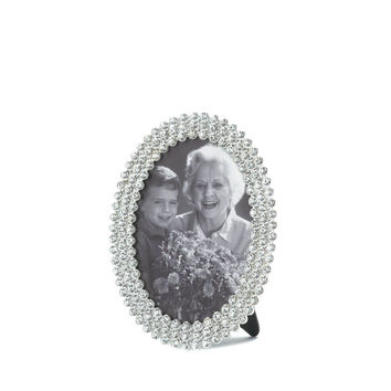 Sparkling Oval Picture Frame
