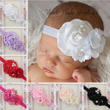 Girl Headbands kids Hair Accessories Flower Headband Fashion Bandeau Cheveux Hairband girl Haarband