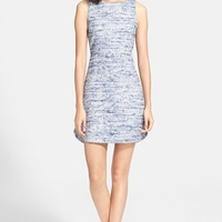 Women's Alice + Olivia 'Gena' Tweed Sheath