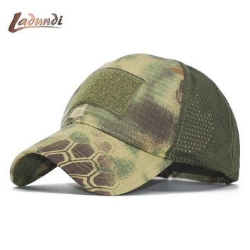 Trendy Winter Jacket ACU Multicam Operator Hat Special Force Camo Mesh Cap  Hat for Men Tactical Contractor Army Baseball caps Hat AT_92_12
