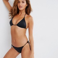 ASOS | ASOS Mix and Match Multi Pack Triangle Bikini Top and Tie Side Bikini Bottom at ASOS