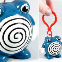 VINTAGE  Poliwhirl Keychain
