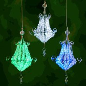 glamping, luxury camping, outdoor lighting, battery operated chandelier