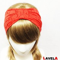 Red Flower Lace-headband on Luulla