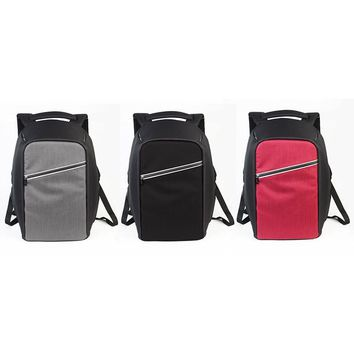 "Anti-theft Extra USB Charging Backpack Male Mochila Escolar 15.6"" Laptop Tablet PC iPad Bags Leisure School Travel Men Women Bag"