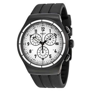 Swatch Irony Stainless Steel Mens Watch YOB403