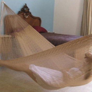 Double Mayan Hammock in Natural Color