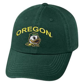 Licensed Oregon Ducks Official NCAA Adjustable Champ Hat Cap Curved Bill Top of the World KO_19_1