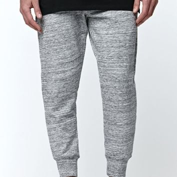 On The Byas The Chill Fit Space Dye Fleece Jogger Pants - Mens Pants - Grey