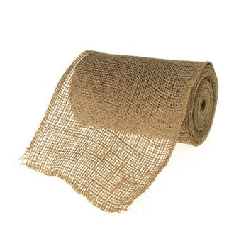 Natural Jute Roll High Quality, 6-inch, 10-yard