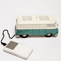 Zumreed / VW Type II Bus Clock Radio with iPod & MP3 Player Speaker, Green