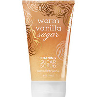 Warm Vanilla Sugar Foaming Sugar Scrub - Signature Collection | Bath And Body Works